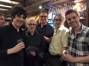 con Ramon Lazkano, Gabriel Erkoreka, Alberto Posadas y José Luis Besada