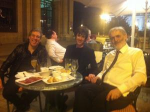 con Juanjo Guillem y Helmut Lachenmann
