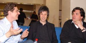 con José Miguel Gómez y Juan Carlos Garvayo (Trío Arbós)