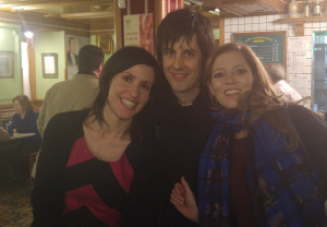 con Eva Sandoval y Barbara Hannigan