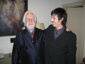 con Klaus Huber