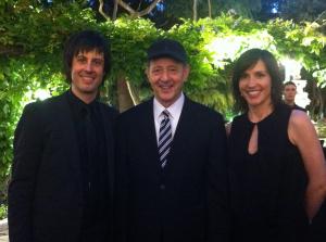 Con Steve Reich y Eva Sandoval.