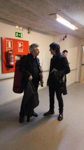con Stefano Pagliani (Luzern Festival Orchestra)
