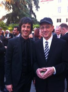 con Steve Reich