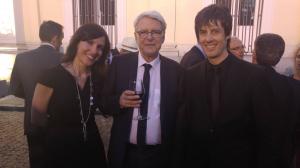 con Eva Sandoval y Geores Aperghis