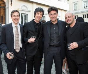 con José Miguel Gómez, José M. Sánchez-Verdú y Eneko Vadillo