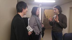 con Vladimir Jurowski y Cecilia Bercovich