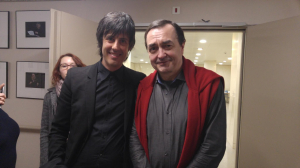 con Pierre-Laurent Aimard