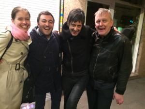 con Iren Seleljo, Pedro Pablo Cámara y Gerald Preinfalk