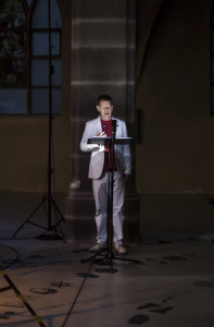 "performing Maria de Alvear's ""Magna Mater"" with MusikFabrik"