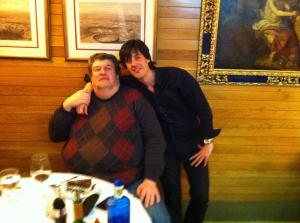 con Oliver Knussen