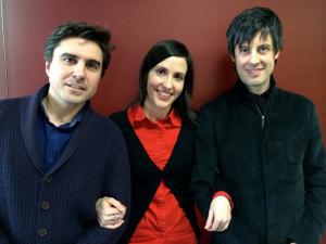 con Iñaki Alberdi y Eva Sandoval en Radio Clásica (RNE)