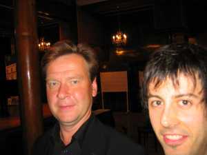 con Magnus Lindberg