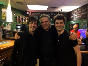 con Frank Scheffer e Iván de Paz
