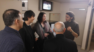 con Vladimir Jurowski, Cecilia Bercovich y Alfonso Aijón