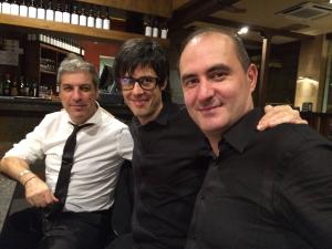 con Juanjo Guillem y Jesús Torres