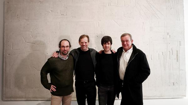 con Juanjo Eslava y Nicholas Isherwood