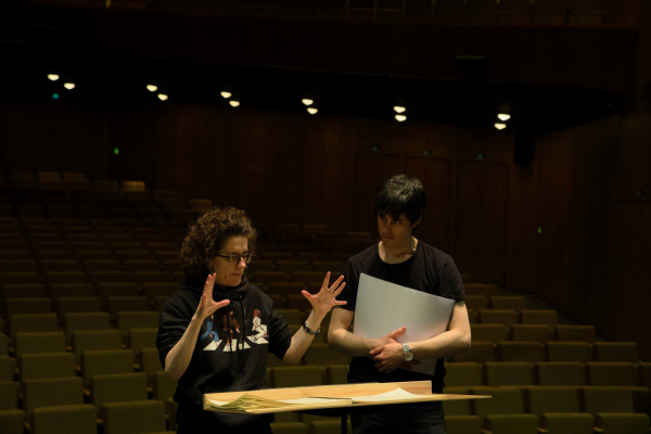 with Olga Neuwirth