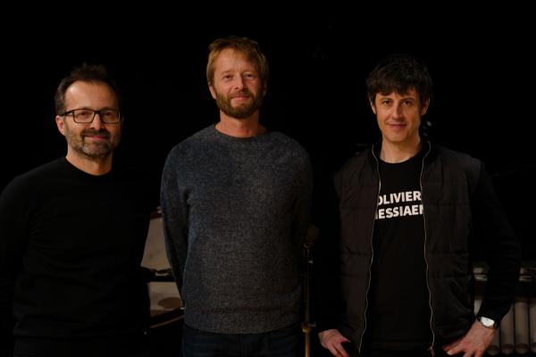 con Reinhard Fuchs y Johannes Maria Staud