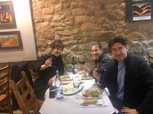con Josetxo Silguero y José M. Sánchez-Verdú