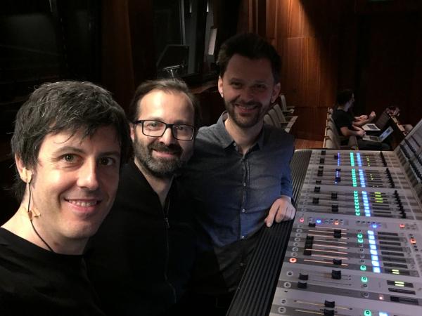 con Reinhard Fuchs y Alfred Reiter