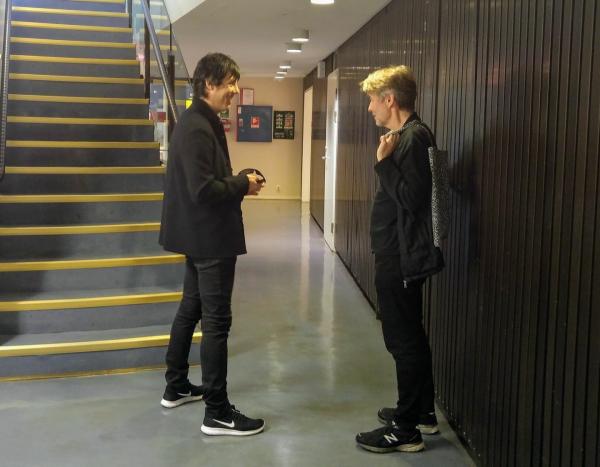 con Esa-Pekka Salonen
