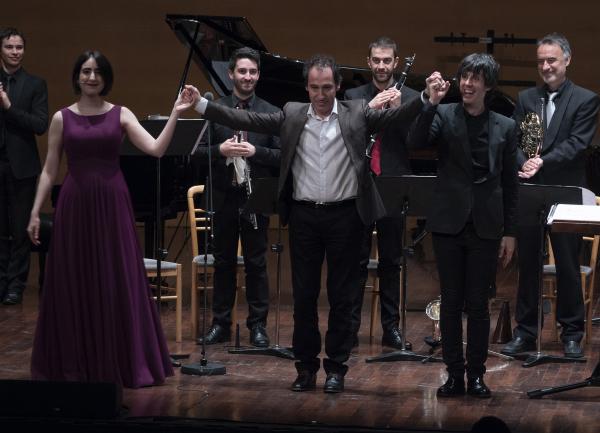 con Anna Davidson y Fabián Panisello [+Plural Ensemble]